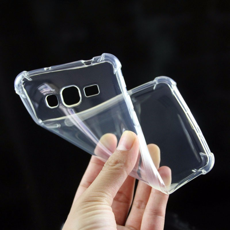 promo code 3499c ae665 US $2.99 |Transparent Silicone Case For Samsung Galaxy J2 Prime Case  Shockproof Bumper Cover & Protective Glass for Samsung J2 Prime G532F-in  Fitted ...