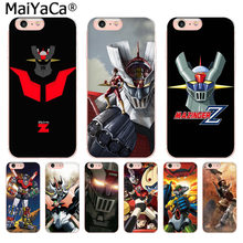 Maiyaca Cartoon Mazinger Z 2018 Gekleurde Tekening Case Voor Iphone Se 2020 11 Pro 8 7 66S Plus X 10 5S Se Xr Xs Xs Max(China)