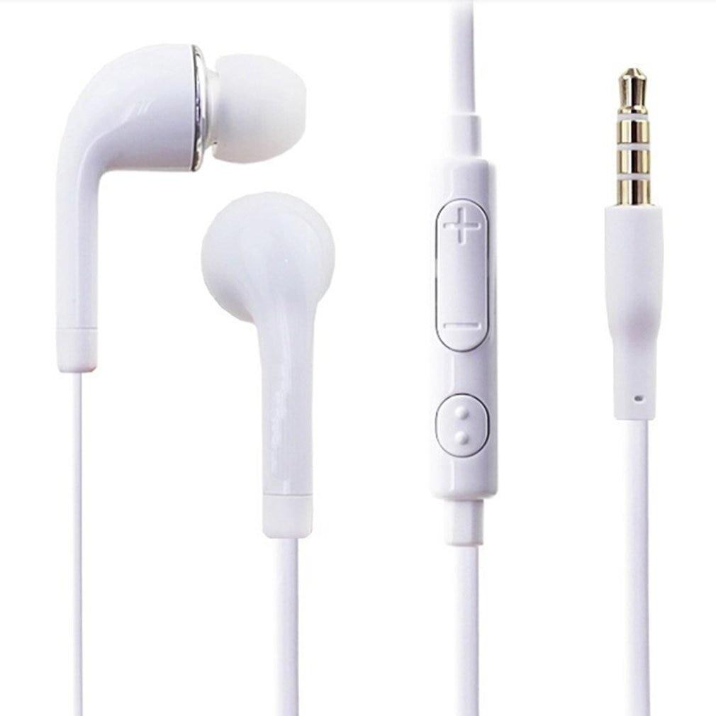 S4 S6 Headphones I9300 Mobile Phone Headphones Wired With Wheat Tuning J5/Jb In-Ear Earphones Universal Earphones
