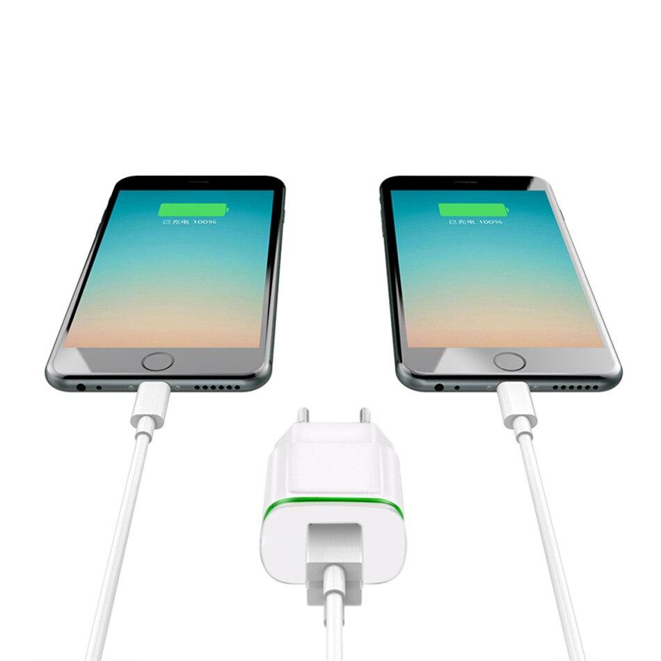 5 В 2.1a путешествия USB Зарядное устройство адаптер ЕС Разъем мобильного телефона для Samsung <font><b>Galaxy</b></font> Note 5 On5 On7 S4 Mini <font><b>s5</b></font> Neo + бесплатная USB Type C