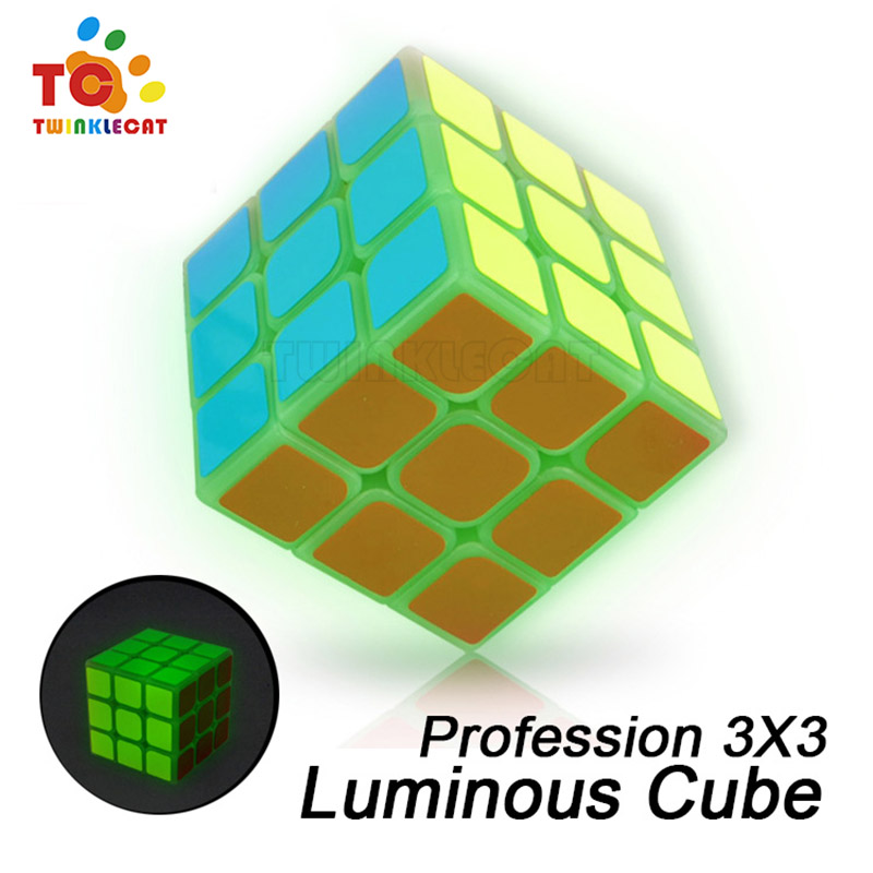 Magic Cubes Enthusiastic 2018 Luminous Magic Cube New 5.7cm 3x3x3 Puzzle Blocks Educational Toy Match Special Toys Kids Boys And Girls Early Leaning Toys Puzzles & Games