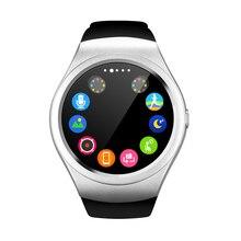 Bluetooth Smart Watch V365 Kreis Touchscreen Smartwatch Sport Fitness Schrittzähler Unterstützung SIM TF Karte Für IOS Android