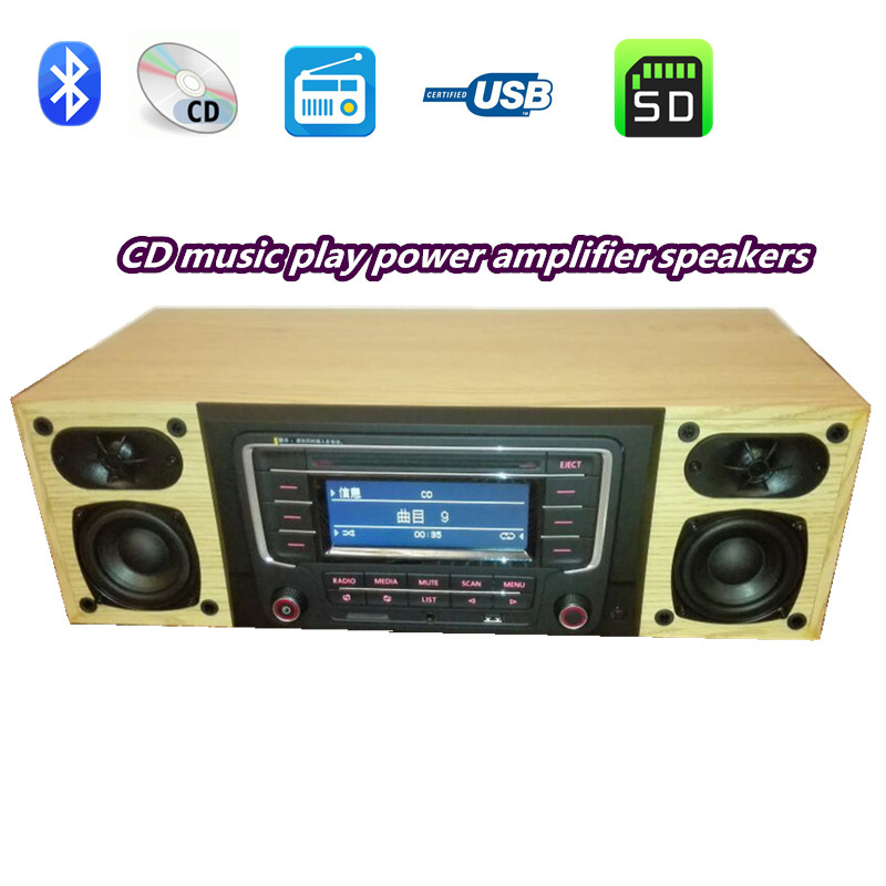 car CD lossless music player speakers amplifier Bluetooth FM SD USB U disk play AMP3 music Car stereo amplifier