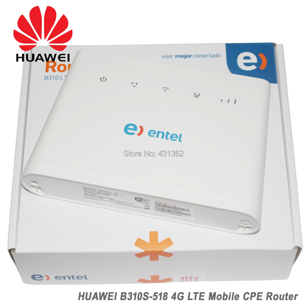 Wholesale Huawei B310S-518 150Mbps 4G LTE Most Secure Wireless Router Support B1 B2 B4 B5 B7 B28