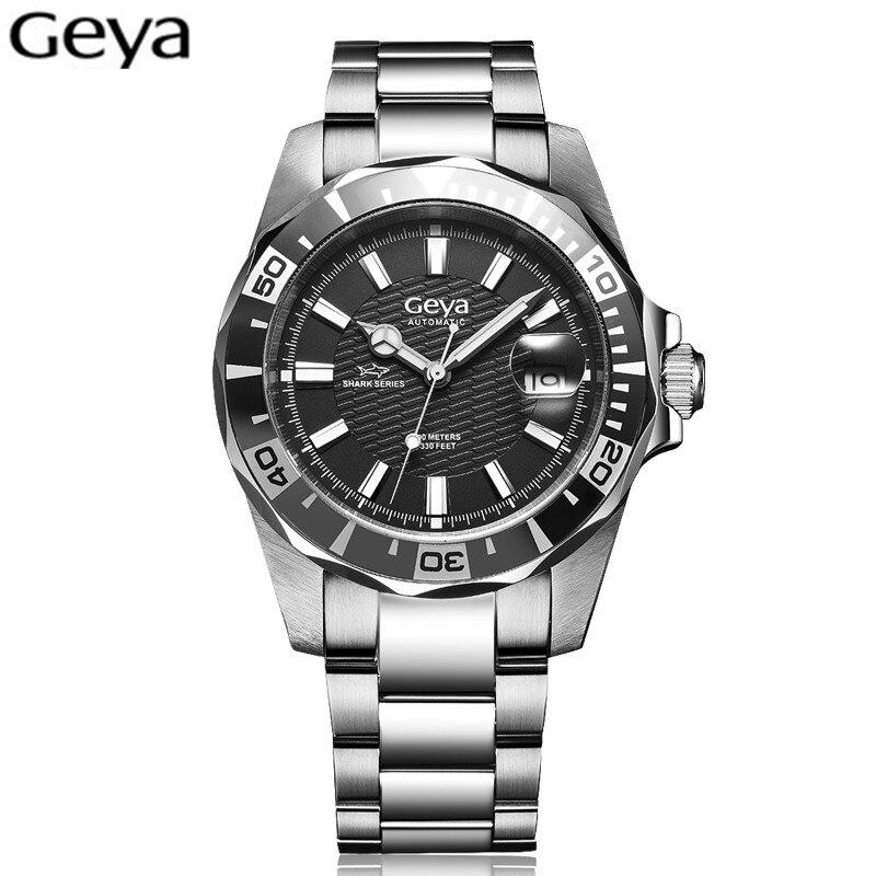 2016 RLX luxury Men Watch 100M Waterproof Sapphire Glass Oyster Bracelet Automatic Mechanical Watch Men Sports