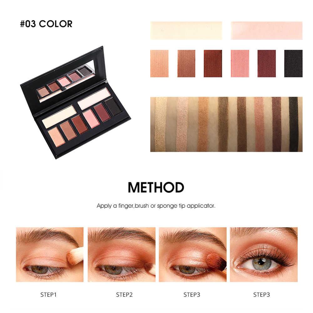 3 renk Mat Göz gölge tozu Pigment Çıplak Uzun Ömürlü Parlak Göz Farı Makyaj için Suya Dayanıklı Kış TSLM1TSLM1