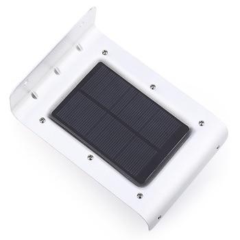 2PCS 16 LEDs Waterproof Solar Wall Lamp  2