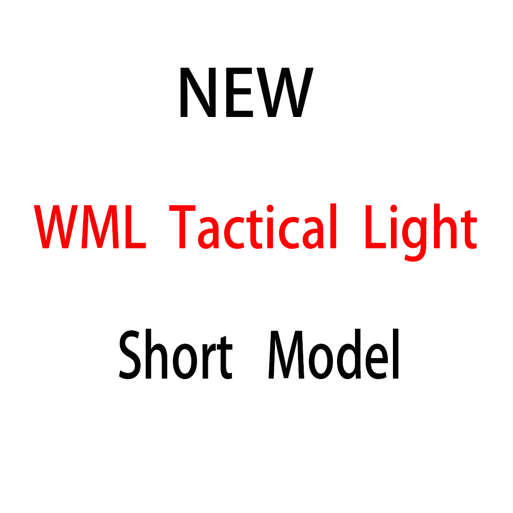 Magorui Tactical WML Short Model WML Weapon Light Flashlight With 20mm Picatinny Rail Mount|Weapon Lights| |  - title=
