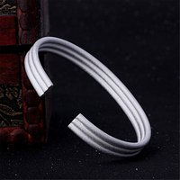 Adjustable Open Female Bracelet Elegant Party Engagement Ladies Bracelets & Bangles For Woman Fashion Jewelry Gift