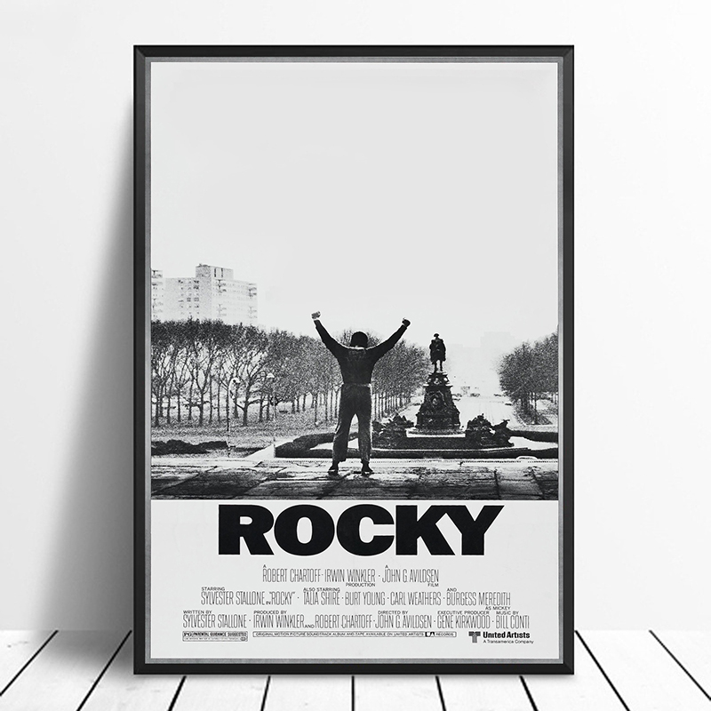 Rocky Vintage Classic Movie Poster Home Decor Wall Decor