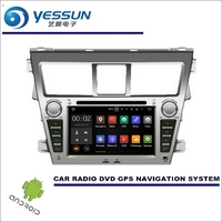 For Toyota Vios Yaris Sedan Belta 2007 2013 CD DVD GPS Player Navi Radio Stereo HD