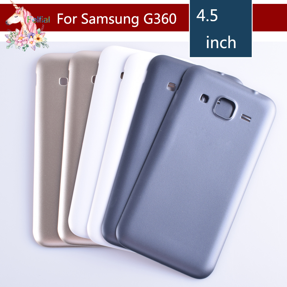 For font b Samsung b font Galaxy Core Prime G360 G360H G360F Housing Battery Cover Door