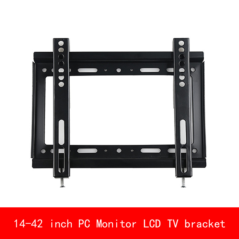 VESA standard Universal 14-42 inch adjustable PC Monitor LCD TV bracket Display TV wall mount tv stand living room furniture monitor lcd led hd tv wall mount bracket fit sostenedor de television en pared 14 42