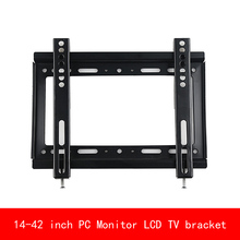VESA standard Universal 14-42 inch adjustable PC Monitor LCD TV bracket  Display TV wall mount tablet pc industrial lcd monitor display screen wall mount keyboard tray mouse stand tray mount computer bracket