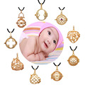Floating Charm Locket Harmony Bola Pregnancy Pendant Mexican Bola Angel Caller Various Shapes Gold Plated Hot Fashion Style