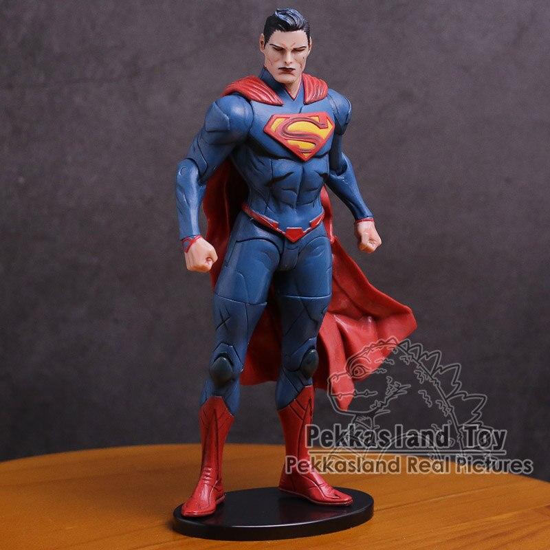 DC Super Heroes Injustice League Superman Batman Wonder Woman PVC Action Figure Collectible Model Toy