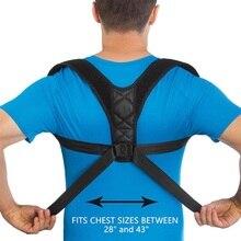 Корректор осанки позвоночника поддержка спины плечо корректор Регулируемый бандаж коррекция Горбатой боли Спорт предотвращение травм
