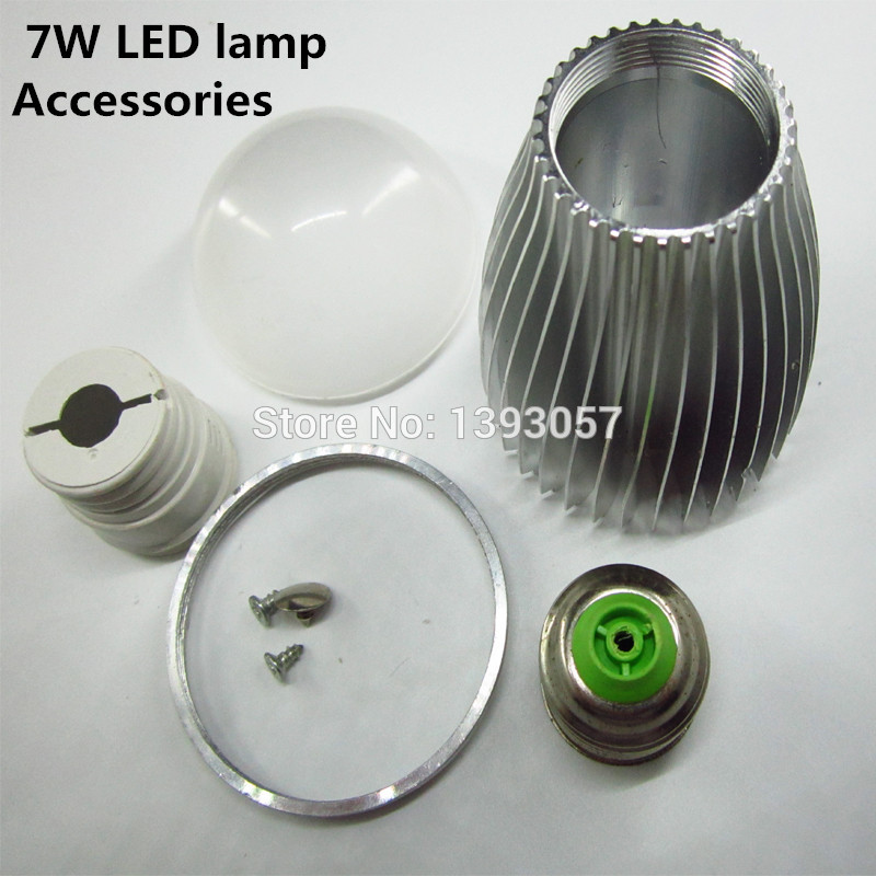 E14 Led Bulb 5 Set 7w Aluminum Shell Kit Led Parts Led Bulb Lamp