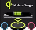 Universal QI Wireless Charger Power Standard Pad+wirless receiver for iphone 5 5s 6S 6 7 plus sumang s3 s4 s5 note3 4 s6 s7 EDGE