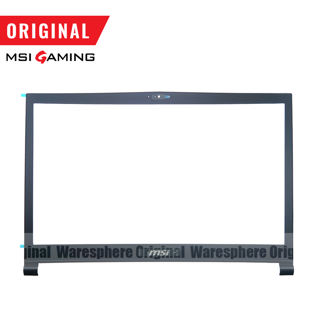 Image 5 - New and Original LCD Back Cover Front Bezel For MSI GS73 GS73VR Rear Lid Case Black 3077B5A213 3077B1A222-in Laptop Bags & Cases from Computer & Office
