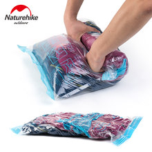 NatureHike Vacuum Swim Clothes Storage Bags Hand Scroll Compressed Vacuum Space Saving Bag Convenient Organizer Travel Kit(China)
