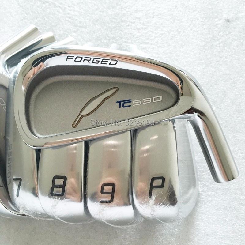 FOURTEEN TC530 Golf Irons Head High Quality Golf Clubs Head 7pcs/lot Irons Clubs Head No Shaft Free Shipping