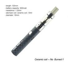 บุหรี่อิเล็กทรอนิกส์C16ชุดขดลวดเซรามิก1.2ohm vapeปากกาบุหรี่อิเล็กทรอนิกส์เครื่องฉีดน้ำ900มิลลิแอมป์ชั่วโมงอาตมาแบตเตอรี่เลิกสูบบุหรี่อีcigaชุด