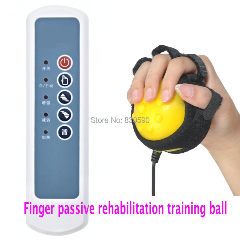 Free Shipping 1pcs Fingers Separating Type Finger Passive Rehabilitation Training Ball for Hand Physiotherapy and Rehabilitation psychiatric rehabilitation