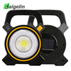 Kaigelin 15W Solar Power COB LED Flood Light 300LM 18650 Rechargeable Camping Waterpoof LED Work Lamp