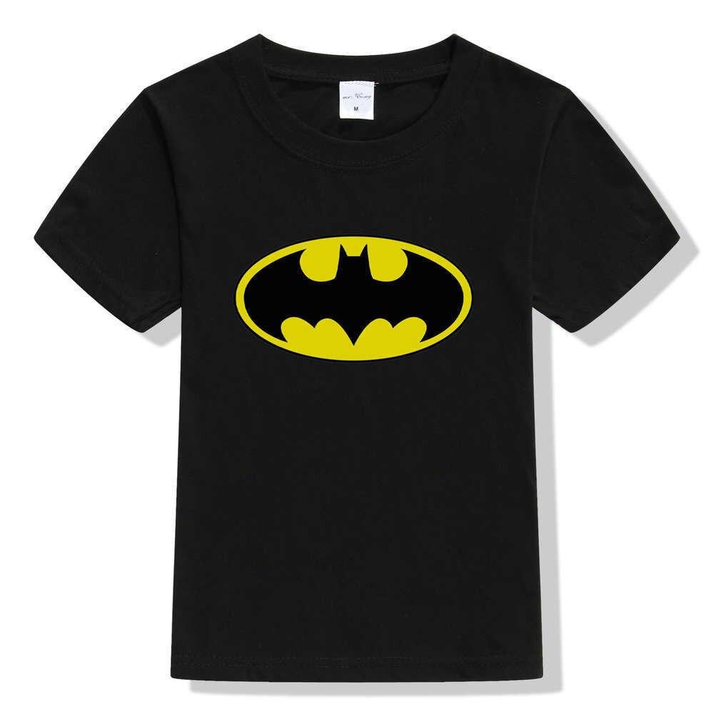 2017 New Batman Kids T shirt Boys Cotton Soft Kids T shirt Short Sleeve Fashion Tees 3D Printing Shirt For kids Boys