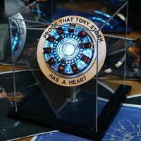 Iron Man Telecontrolled MK1 Reactor LED Tony Stark Hart Licht Tafel Decoratie Cosplay Avengers Collection Armor