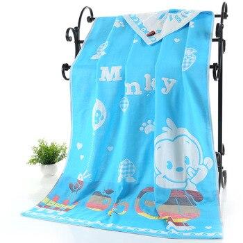 Cotton Gauze Adult Cartoon Towel Bath Towel 1