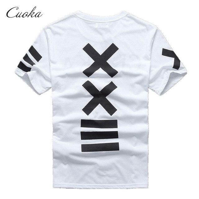 Cuoka funny t shirt homens harajuku Pirex xxlll hba roupas de Marca hip hop de manga Curta t-shirt homme anime Topos & T atacado