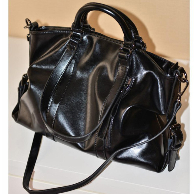 01f268a2e5 Fashion Leather Bags Tote Leather Handbags Women Messenger Bags Shoulder Bag  High Quality Shoulder Bag Designer Bolsas bolso