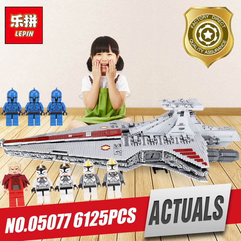 Lepin 05077 The UCS Rupblic Set Star Destroyer model Cruiser ST04 Building Blocks Bricks Legoing Toy model as birthday Gift lepin 05077 star series wars the ucs rupblic set destroyer model legoing cruiser st04 building blocks bricks toys for child gift