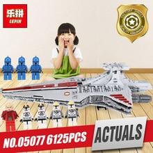 Lepin 05077 The UCS Rupblic Set Star Destroyer model Cruiser ST04 Building Blocks Bricks Legoing Toy model as birthday Gift