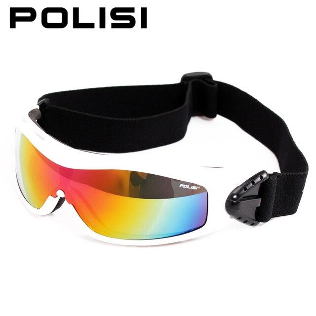 480ef40f87d2 POLISI Winter Snowboard Skate Goggles UV Protection Outdoor Windproof Snow  Glasses Children Kids Ski Skiing Snowmobile Eyewear