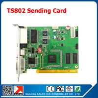 Free Shipping LINSN Full Color TS802D LED Display Sending Card Synchronous Control Video Card Indoor Outdoor Video Wall