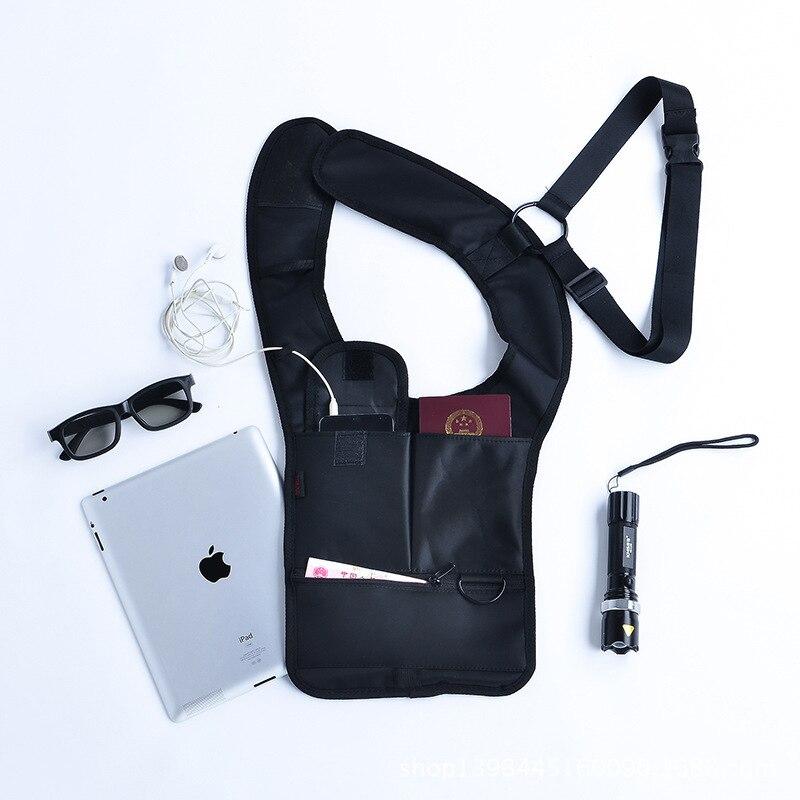 Men's bag new upgrade version of stealth anti-theft armpit men's shoulder bag men's Messenger bagshoulder bag holster 1