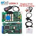 Professional Lexia3 V48 Diagbox V7.83 921581C FW Chip de Auto Scanner Ferramenta de Diagnóstico Lexia 3 PP2000 Para Citroen Peugeot
