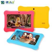 Y1 irulu 7 «BabyPad Quad Core Android 4.4 Tablet PC для Детей RAM 1 ГБ ROM 0.3MP 8 ГБ Tablet поддержка Wi-Fi с силиконовый Чехол