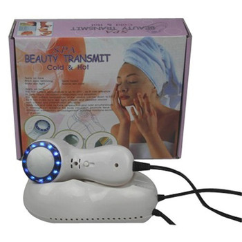 Blue ice cold hammer beauty instrument (5C) cold skin smoothing ice cold compress therapy home whitening remove acne pores фото