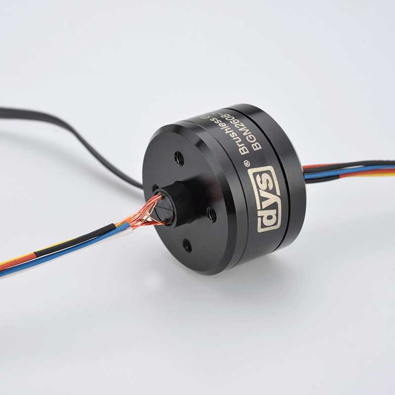 12N14P 2608 70 T Borstelloze Gimbal Motor Met Slip Ring BGM2608-70T 8.5mm Holle As GoPro Camera Motoren