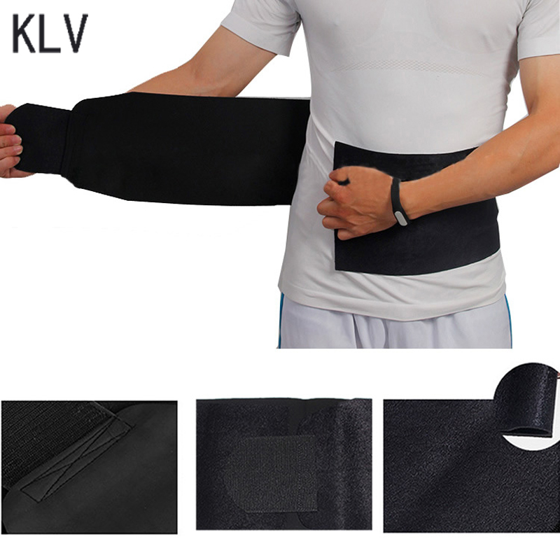 KLV Burn Fat Exercise Slimming Belt Weight Loss Waist Trimmer Adjustable Belly