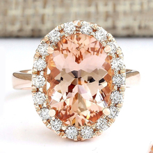 Fashion Silver Color Artificial Champagne Cubic Zirconia Crystal Big Ring for Women Wedding Jewelry Wholesale D30