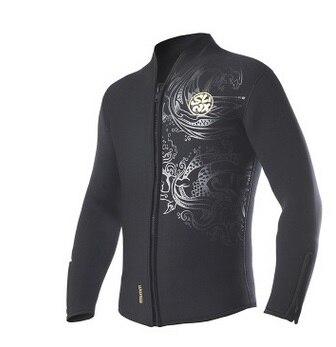 Slinx 5mm néoprène plongée sous-marine vêtements apnée veste combinaison couche de finition haute élastique chasse sous-marine cerf-volant Surf planche à voile maillots de bain