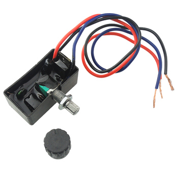 Pulverizadores eléctricos de 12V, interruptor regulador de ajuste, máquina de lucha agrícola, accesorios para medicamentos, Interruptor de velocidad
