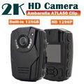 Envío libre! 2 K HD S60 Cuerpo Personal de Seguridad y de Policía Record 128 GB Ambarella Cámara de Visión Nocturna de $ number horas A7LA50