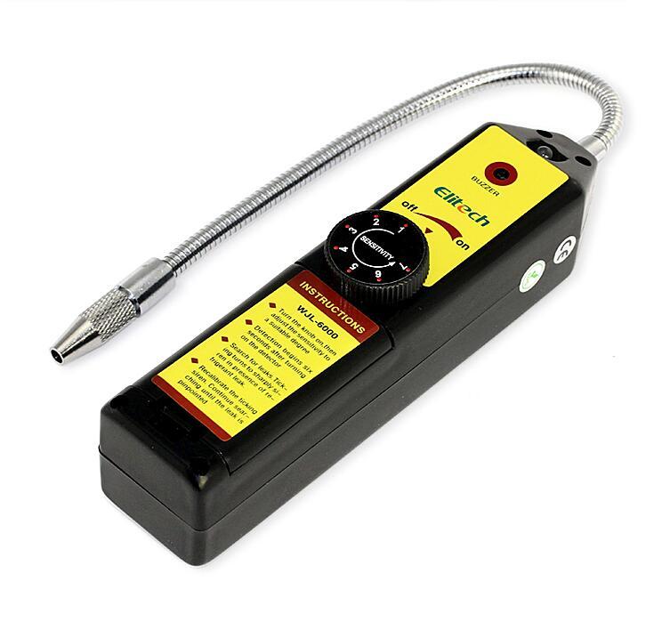 Détecteur de fuite de gaz détecteur de gaz Fréon analyseur de gaz CFC HFC Halogène Gaz Réfrigérant Détecteur de Fuite Air Conditionné R22a R134a