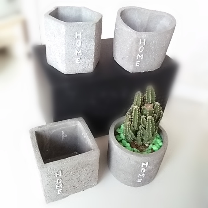 Concrete Silicone Mold Handmade Craft Pot Mould For